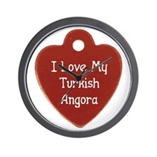 Love Angora Wall Clock