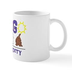 Purple San Diego Rabbits Mug