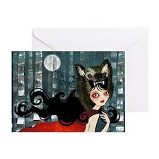 red_cafepress_bag Greeting Card