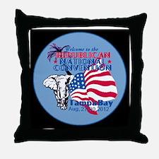 Republican Convention Throw Pillow