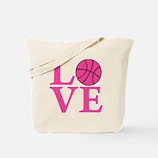 melon2, Basketball LOVE Tote Bag