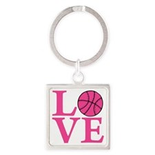 melon2, Basketball LOVE Square Keychain