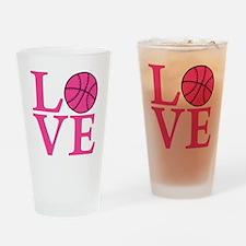 melon2, Basketball LOVE Drinking Glass