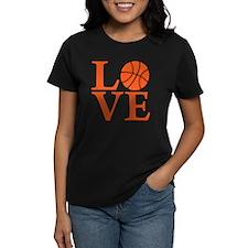 orange, Basketball LOVE Tee