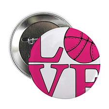 """melon, Basketball LOVE 2.25"""" Button"""