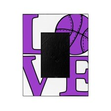 purple, Basketball LOVE Picture Frame