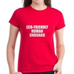Eco-Friendly Women's Dark T-Shirt