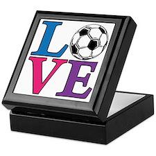 Multi, Soccer LOVE Keepsake Box