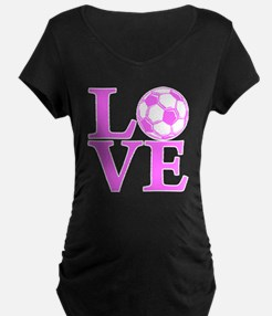 pink2, Soccer LOVE T-Shirt