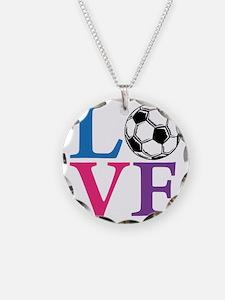 Multi2, Soccer LOVE Necklace