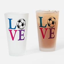 Multi2, Soccer LOVE Drinking Glass