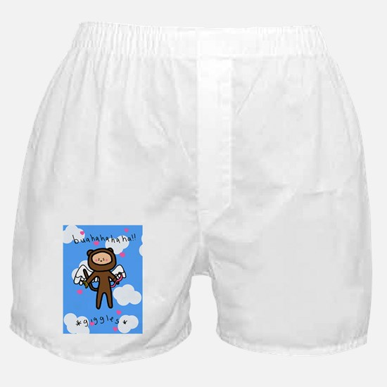 Monkley Valentines Card Boxer Shorts