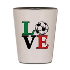 mexico, Soccer LOVE Shot Glass