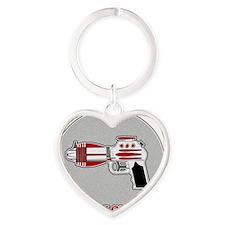 Ronaldraygun Heart Keychain