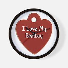 Love Bombay Wall Clock