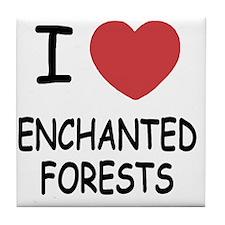 ENCHANTED_FORESTS Tile Coaster