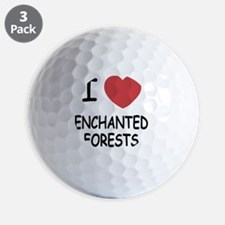 ENCHANTED_FORESTS Golf Ball