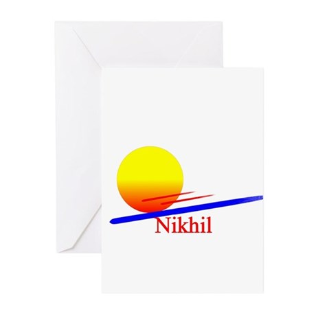 Nikhil Greeting Cards (Pk of 10)