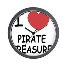 PIRATE_TREASURE Wall Clock