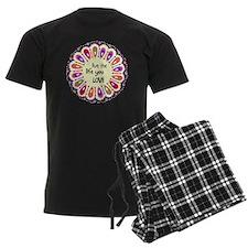 lIve the life you love Coaster Pajamas