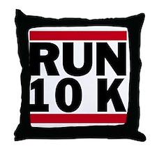 Run 10K_light Throw Pillow
