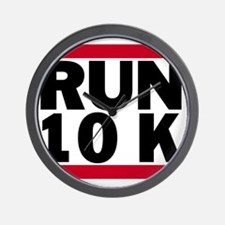 Run 10K_light Wall Clock
