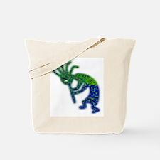 The Green Kokopelli Tote Bag