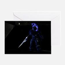 Halo Character Greeting Card