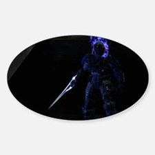 Halo Character Sticker (Oval)
