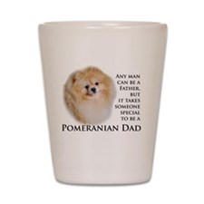 Pomeranian Dad Shot Glass