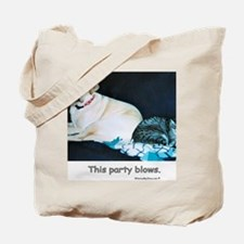 ThisPartyBlows Tote Bag