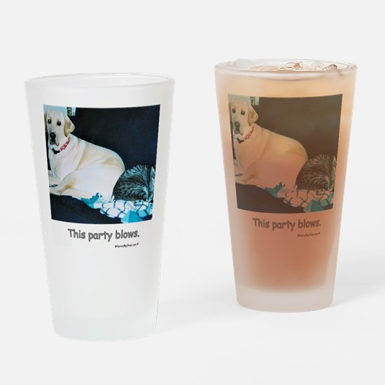 ThisPartyBlows Drinking Glass