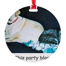 ThisPartyBlows Ornament
