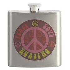 CP - peace love nursing6 Flask