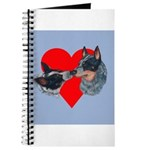 Australian Cattle Dog Kiss Journal