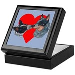 Australian Cattle Dog Kiss Keepsake Box