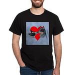 Australian Cattle Dog Kiss Dark T-Shirt