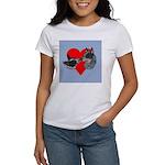 Australian Cattle Dog Kiss Women's T-Shirt