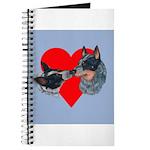 Australian Cattle Dog Kiss Journal