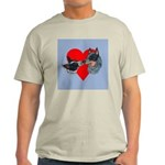 Australian Cattle Dog Kiss Light T-Shirt