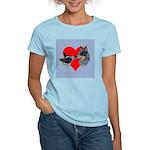 Australian Cattle Dog Kiss Women's Light T-Shirt