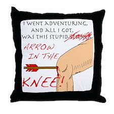 arrowknee13 Throw Pillow