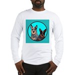 Australian Cattle Dog Pair Long Sleeve T-Shirt