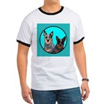 Australian Cattle Dog Pair Ringer T