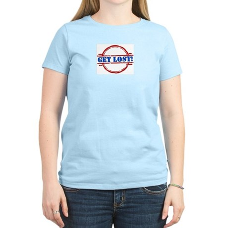 Get Lost: Search & Rescue Women's Light T-Shirt