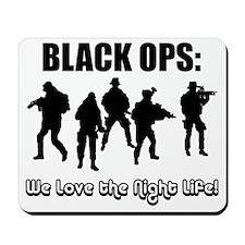 Art_Black Ops Night Life1 Mousepad