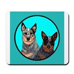 Australian Cattle Dog Pair Mousepad