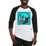 Australian Cattle Dog Pair Baseball Jersey