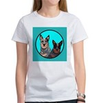 Australian Cattle Dog Pair Women's T-Shirt