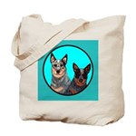Australian Cattle Dog Pair Tote Bag